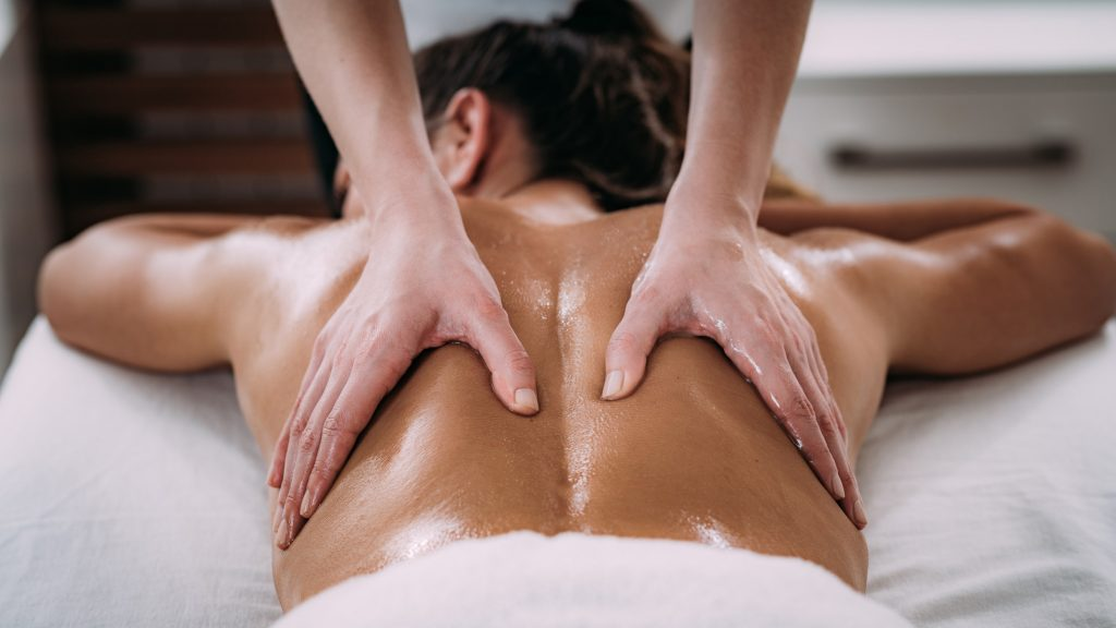 tantric back rub